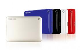 Портативные накопители Toshiba Canvio увеличенной емкости