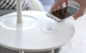 IKEA разработала мебель со встроенной технологией беспроводной зарядки