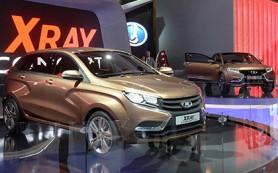 «АвтоВАЗ» начал сборку Lada XRay