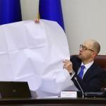 Яценюк выступает с НАТО