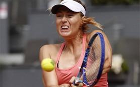Шарапова вышла в полуфинал турнира в Мадриде