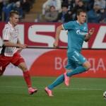 «Зенит» сыграл дома вничью с «Амкаром»