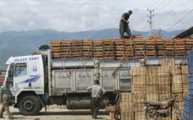 Турецкий экспорт в Россию за десять месяцев упал более чем на треть