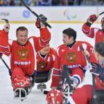 Сборная РФ по следж-хоккею впервые выиграла золото чемпионата Европы