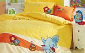 Детское постельное бельё должно быть изготовлено из натуральных материалов