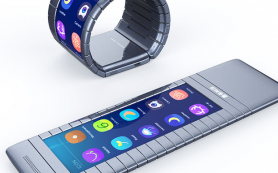 Китайцы выпустят сворачивающийся в браслет смартфон