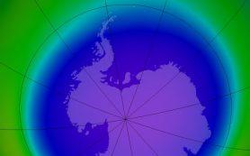 Озоновая дыра над Антарктидой уменьшилась