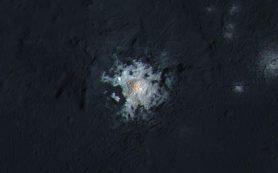 Ученые «обновили» соль в кратерах Цереры