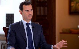 Асад: Коалиция во главе с США ударила по сирийским военным намеренно