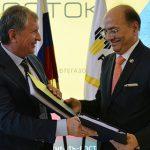 «Роснефть» и ONGC подписали договор о продаже акций «Ванкорнефти»