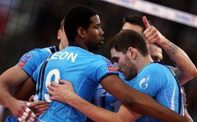 Снова без трофея: волейболисты «Зенита» уступили в финале клубного ЧМ