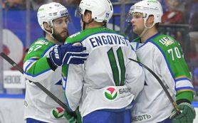 «Салават Юлаев» забросил шесть безответных шайб «Сибири» в матче КХЛ