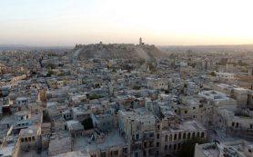 Террористы обстреляли гуманитарный коридор в Алеппо