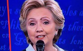 В Сети победителем дебатов между Трампом и Клинтон провозгласили муху