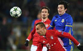 «Ростов» обыграл «Баварию» в Лиге чемпионов