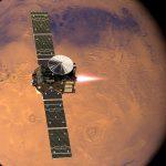 Новый орбитальный аппарат TGO начинает искать следы жизни на Марсе