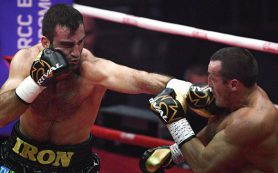 Новый чемпион: Мурат Гассиев победил Дениса Лебедева в бою за титул IBF