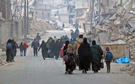 Еще 366 боевиков сложили оружие в сирийском Алеппо