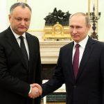 Президент Молдавии: Я не просил у Путина денег