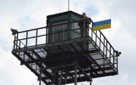Украина приостановила возведение стены на границе с Россией