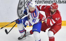 Хоккеисты СКА разгромили «Витязь» и вышли во второй раунд плей-офф КХЛ
