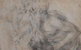 В Риме представили неизвестный рисунок Микеланджело
