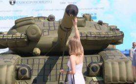Армия США заказала надувные Т-72