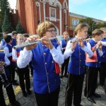 Сорок детских духовых коллективов выступили у стен Кремля