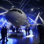 Первый самолет МС-21 вышел из сборочного цеха