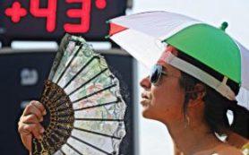 Во Франции и Италии из-за жары плавятся термометры
