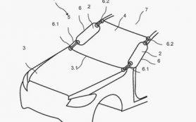 Компания Mercedes-Benz разработала внешние подушки безопасности для пешеходов