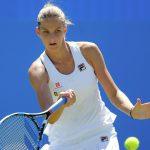Эшли Барти обыграла Каролину Плишкову в 1/4 финала теннисного турнира в Ухани