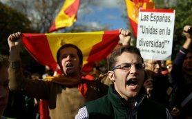 Мадрид направил дополнительные войска в Каталонию