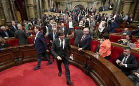 Сторонники и противники независимости Каталонии обменялись «уколами»