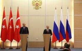 Путин получил приглашение в Турцию от Эрдогана