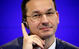 Польский премьер планирует внешнюю политику без России и Германии