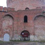 Перекрыт проход на восточный участок Смоленской крепостной стены