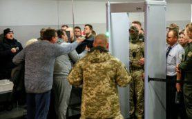 Саакашвили выдворен на территорию Польши