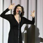 Французская певица-шансонье Кристель Лури выступила во Владимирской области
