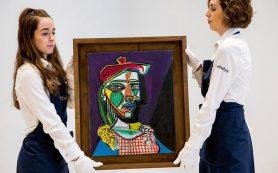 Картина Пикассо «Женщина в берете и клетчатом платье» впервые будет выставлена на торги