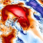 В январе на Северном полюсе наблюдалась плюсовая температура