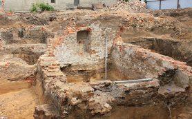 В Воронеже найдены фрагменты древней крепости XVI — XVII века