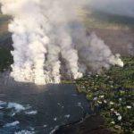 Вулкан на Гавайях продолжает напрягать туристов