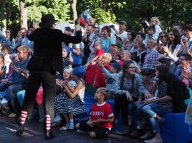 В саду «Эрмитаж» прошел инклюзивный фестиваль «Гала-фест»