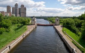 На московских водохранилищах построят плавучие отели