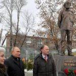 В Москве открыли памятник Александру Солженицыну