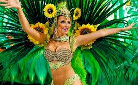 Ежегодный карнавал открывается в Бразилии