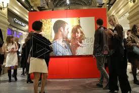 В столице открылась выставка актуального искусства «ГУМ-Red-Line»