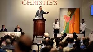 Лоты аукциона Christie's