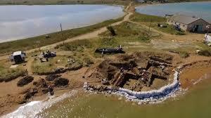 Сотрудники РГО и археологи из Эрмитажа исследуют древнегреческий город Акра